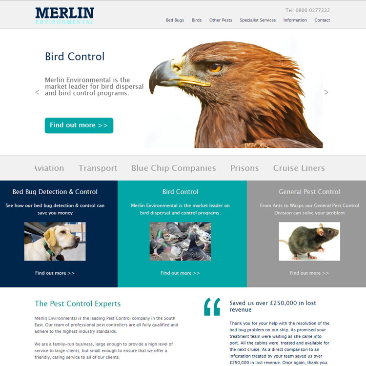 merlin website