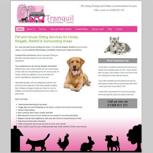 Tranquil Pets & Homes