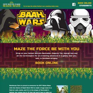 Newhouse Farm Maize Maze