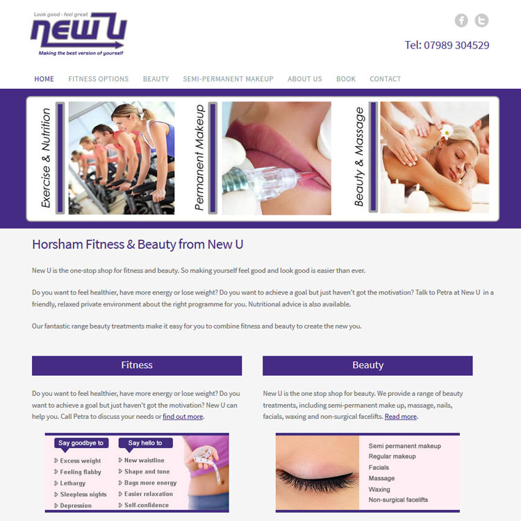 horsham fitness and beauty