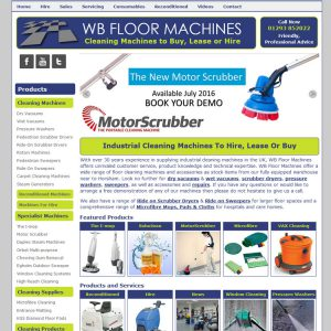 WB Floor Machines