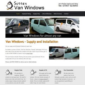 Sussex Van Windows
