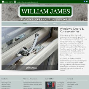William James Windows